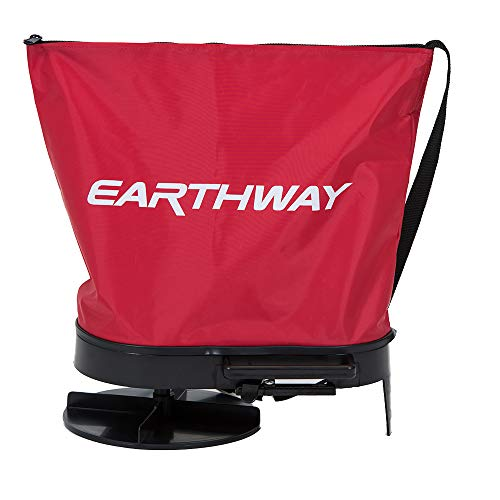 Earthway Products 2750 Hand Crank Bag Seeder/Spreader, Red