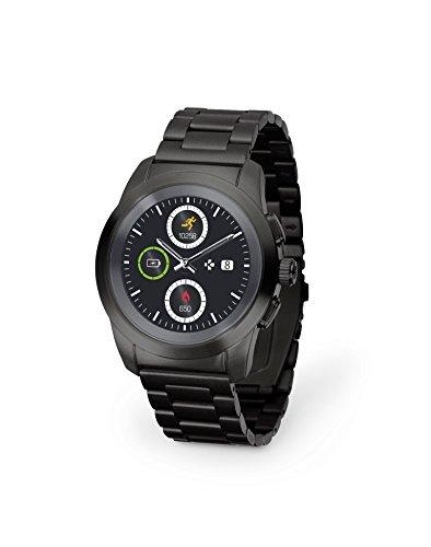 MyKronoz ZeTime Regular Elite Smartwatch Schwarz TFT 3,1 cm (1.22 Zoll) - Smartwatches (3,1 cm (1.22 Zoll), TFT, Touchscreen, 72 h, 90 g, Schwarz)