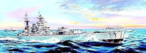 Trumpeter 03708 - Modellbausatz HMS Nelson 1944