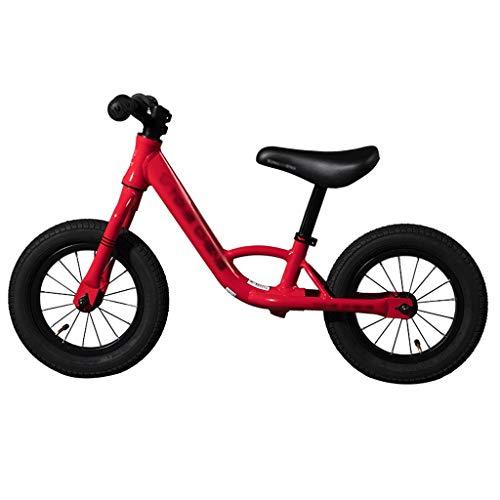 UNU_YAN Kinderselbstausgleich Fahrrad Scooter Sport Competitive Scooter Geschenke for Jungen und Mädchen 2-8 Jahre alt, justierbare Sitzhöhe