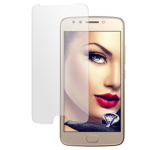 mtb more energy® Schutzglas für Motorola Moto E4 (5.0'') - Tempered Glass Bildschirm Schutzfolie Glas-Folie