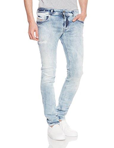 Diesel Herren Sleenker 084DK Jeans (33W / 32L, Blau)