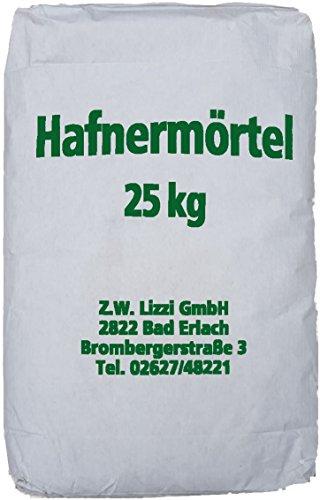 Lizzi 25 kg Hafnermörtel Hafnerlehm Lehmmauermörtel Lehm Mauermörtel Lehmmörtel Ofenlehm