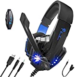 Best Pc Gaming Headsets - Punnkfunnk (K20) Gaming Headset, Over Ear Gaming Headphones Review