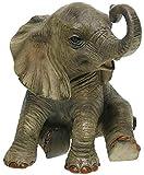 Out Of Africa Lesser & Pavey Figurine éléphant Multicolore Taille Unique