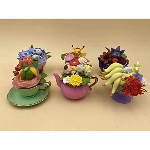 Neun Schwänze Schöne Blume Zoroa Q Version 6 Teetassen, Eierkartons, Figuren, Autodekorationen, Heimdekorationen