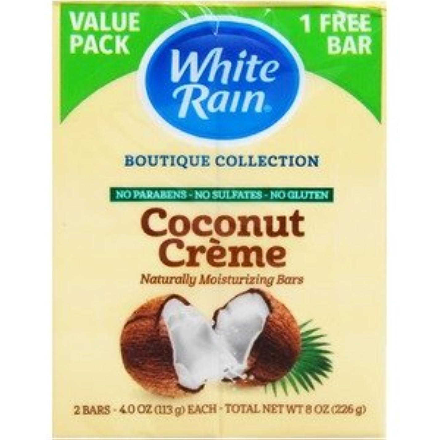 有害な敬な絶対にホワイトレインバーソープ ココナッツクリーム×【12個セット】