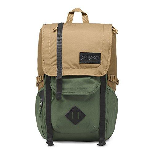 JanSport Hatchet Backpack - Field Tan/Muted Green