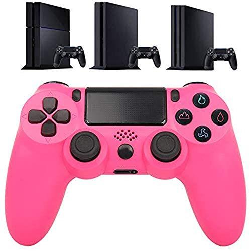 LIMIAO Controlador Bluetooth PS4, Almohadilla de Juego de vibración para Playstation 4 Detroit, Joystick inalámbrico para Consola de Juegos PS4 Slim / PS4 Pro para PC,4