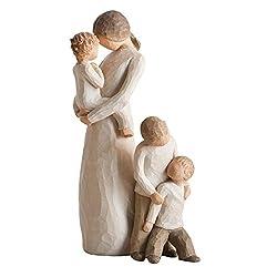 Willow Tree Tenderness figurine (Height 21cm, Ref: 26073) Willow Tree Brothers Figurine (Height 12.5cm, Ref: 26056)
