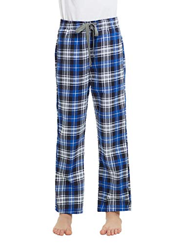 HiddenValor Big Boys Cotton Pajama Lounge Pants (Blue, XL)