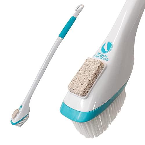 shower foot scrubber brush