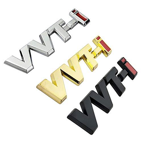 TAYDMEO Logotipo de VVTi de aleación de Metal Tira de Plata
