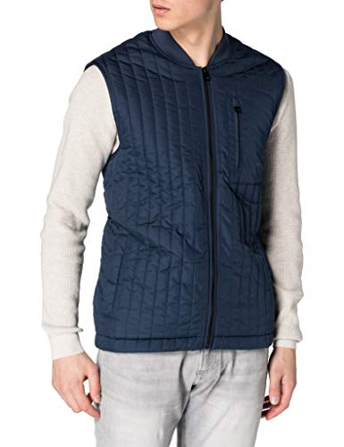 ONLY&SONS Herren ONSVINCENT Life Quilted Vest OTW Steppjacke, Dress Blues, XS