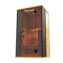 Medical Sauna 4 Full Spectrum | Home Sauna – 2 Person Indoor Infrared...