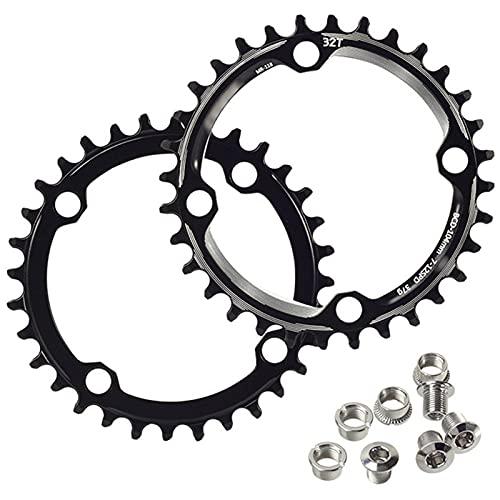 DSMGLRBGZ Bicycle Sprocket, 32T/36T Flywheel for Road Bike Chainrings, BMX MTB Sprocket, Mountain,32T