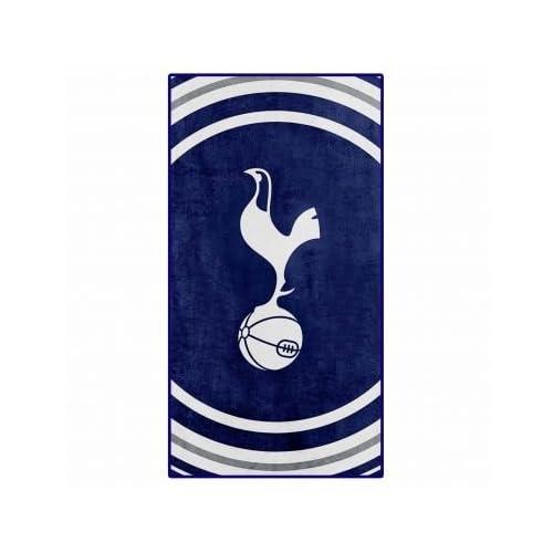 Telo da bagno ufficiale Tottenham Football Crest (100% cotone)