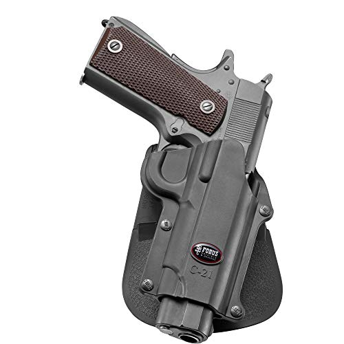 Fobus C-21 Paddle Holster Fobus C-21 Paddle Colt 45& 1911 Style,FN,High Power,Browning,Kimber