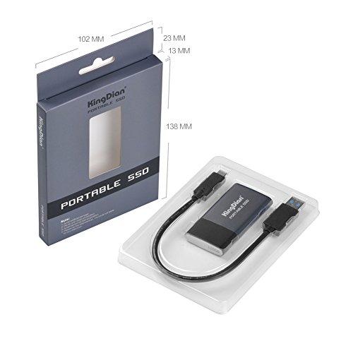 KingDian - Unidad de Estado sólido portátil (120 GB, 240 GB, 500 ...