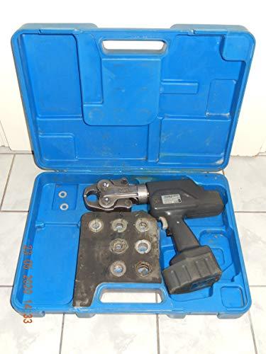 HOLGER CLASEN VIEGA NUSSBAUM RM Pressmaschine mit 7 Pressbacken,1 Akku im Koffer, geprüft, guter Zustand