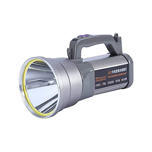 KSDCDF DIRIGIÓ Linterna táctica - Alta lumen, zoomable, modos, luz resistente al agua: accesorios para acampar, engranajes al aire libre, linternas de emergencia
