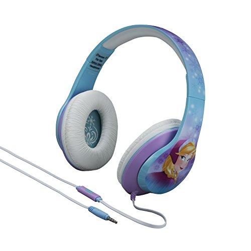 ekids Di de m40fr Disney Frozen Auriculares con micrófono y Controles de música größenverstellbar Azul