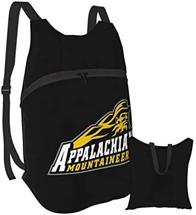 Appalachian State Mountaineers Fashion Folding Portable Polyester Backpack Casual Bookbag Shoulder product image