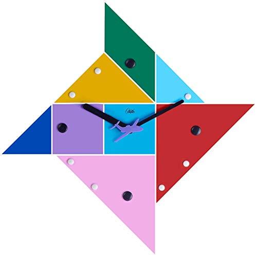 Jigsaw Puzzle Horloge murale Horloge Jouet pour enfants Horloge Gratuite Sorte Calme Chambre Salon Salle À Manger Horloge