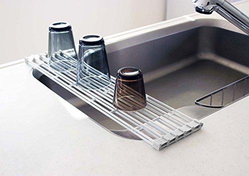 山崎実業『折り畳み水切りラックタワー』