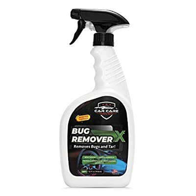 Car Care Haven Bug Remover X - Tar, Goo, Road Grime, Tree Sap, Bird Poop, Cleaner for Vehicles - Windshields, Mirrors, Grills & Hood - Bugs Removal Spray for Cars, Motorcycle, Boat, Truck & Campers