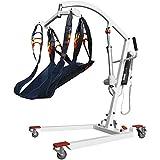SKSNB Elevador de Pacientes, Elevador de Cuerpo eléctrico Plegable, sin ensamblaje, Capacidad de Peso de 400 LB, Elevador de Pacientes eléctrico para hospitales de residencias de Anciano