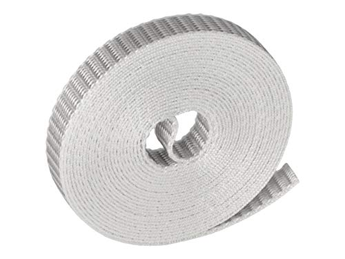 WAREMA Rollladengurt, Breite 14 mm, grau, Länge 5 Meter, Rollladen Gurtband