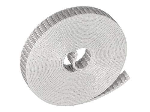 WAREMA Rollladengurt, Breite 14 mm, grau, Länge 50 Meter, Rollladen Gurtband