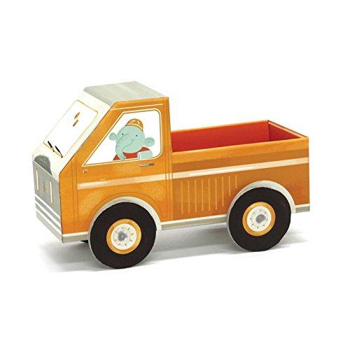 Camion à Remorque en Carton à Plier Pour Enfant - Fold my car - Krooom