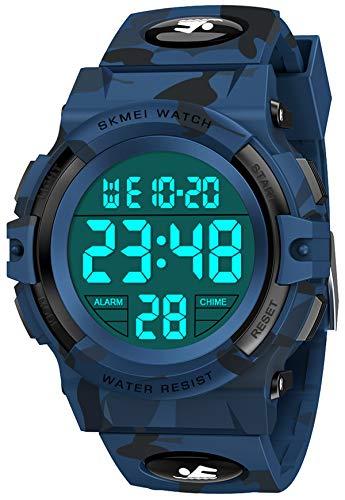 SOKY Kinder Uhren für Jungen, 5 6 7 8 9 10 Jahre Mädchen Geschenk Kinder Digitaluhr Mädchen Spielzeug Ab 5-15 Jahre Uhr Kinder Geburtstagsgeschenk Für Jungen 5-16 Jahre Armbanduhr Mädchen