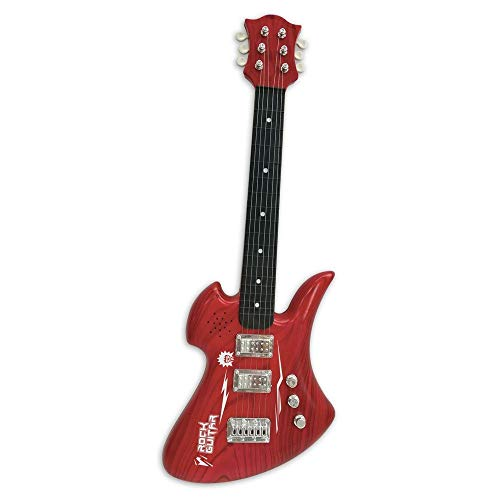 Bontempi Icom - Guitarra, Color Rojo, 24 4815
