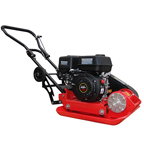 CrosSFER trilplaat RPV-29142 vloercompressor 6,5 pk verdichtingsdiepte 25 cm gewicht 63 kg incl. rubberen mat en onderstel