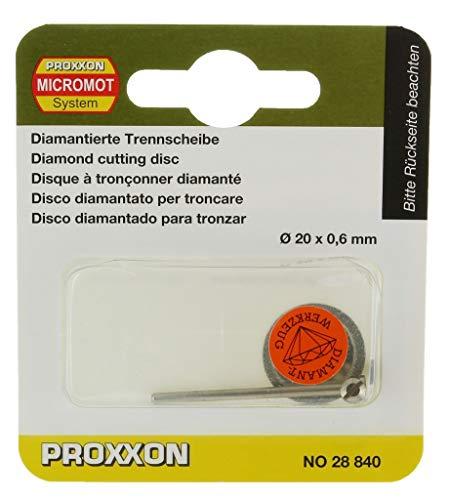 PROXXON 28840'FIG.25' DISCO DIAMANTATO MM.20 NEXTRADEITALIA Confezione da 1PZ