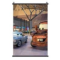 カーズ. ポスター 絵を掛ける 3 Dプリント ファッション 装飾画 壁の装飾 室内日本 アートポスター 壁画の装飾 ポスター掛け インテリアアート壁 流行のプレゼント