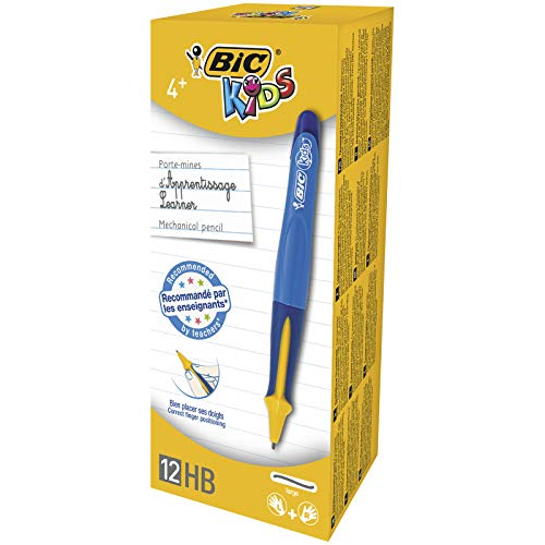 BiC KIDS Mechanical Pencil for Learners - Blue Barrel (Pack of 12)