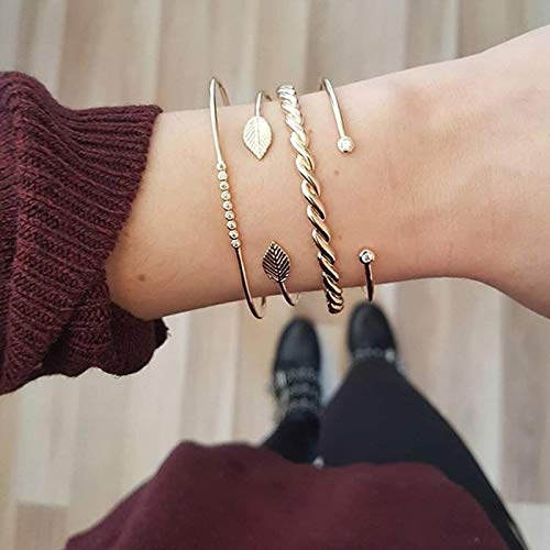 Jewellery Bracelets Bangle For Womens Simple Women Bracelets Multilayer Chain Tassel Pendant Bracelet Set Dance Party Costume Jewellery Accessories 83415