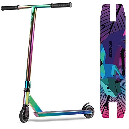 SOKE EVO Street ABEC-9 Stunt Performance-Roller| Erwachsene und Kinder | EN 14619 | vielfarbig