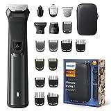Philips MG7785/20 Multigroom Series 7000 18 en 1 Recortadora de Barba, Cortapelos Corrector Corporal, Recortador de Pelo de Oído y Nariz, Cuchillas de Metal Autoafilables