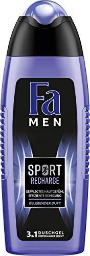 Fa Men Sport Recharge Duschgel, 6er Pack (6 x 250 ml)