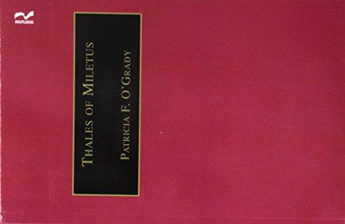 Thales of Miletus (Western Philosophy Series)