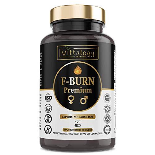 Vittalogy F-Burn Premium. Quemagrasas Potente...