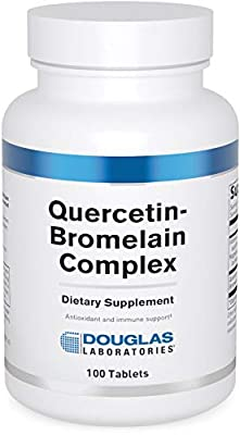 Douglas Laboratories - Quercetin Bromelain Complex - Formulation to Support Vascular and Immune Cell Function - 100 Tablets