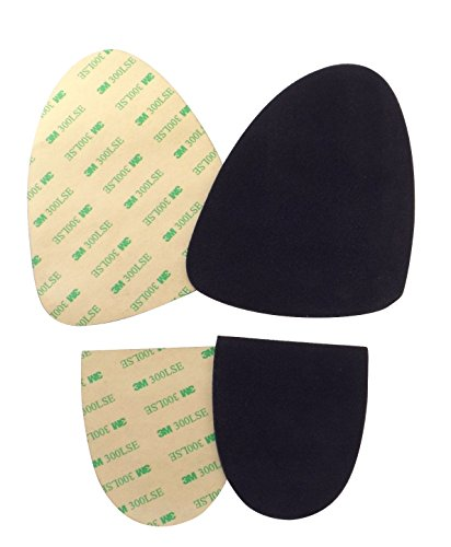 Stick-on suede soles with industrial-strength adhesive backing. Resole old dance shoes or turn sneakers into perfect dance shoes. [SUEDE-XL-sport-r01]