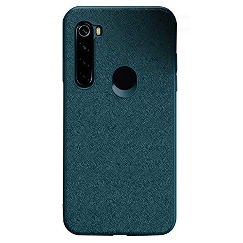 Tianyan Funda Xiaomi Redmi Note 8,Antichoque Carcasa Suave TPU Silicona Espalda Cuero Ultra-Delgado Protector Caso Funda para Xiaomi Redmi Note 8,Verde