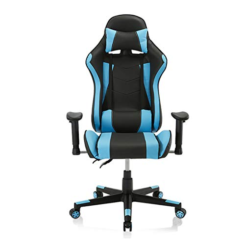 Video Game Chair, Ergonomic Computer Gaming Chair Big and Tall PC Racing Office Chair PU Leather...